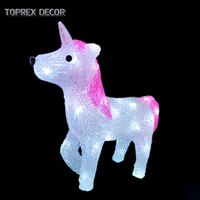 Toprex Decor outdoor led themed event light wedding decoration unicorn party supplie