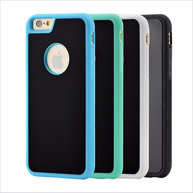 OEM Phone Models Magical Selfie Nano Suction Adsorption Sticky Anti Gravity Case for Huawei for Samsung
