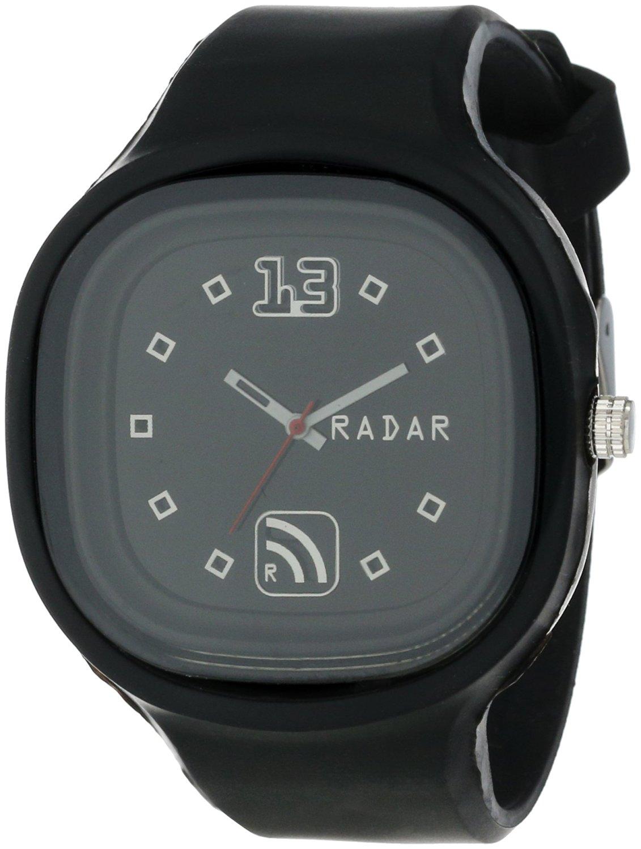 RADAR Watches Unisex SABLK-X001 The Special Agent Interchangeable Silicone Analog Watch
