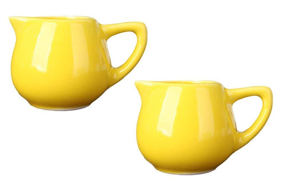 Ceramics Retro Flower Mixing Milk Cream Pots,Milk Jugs,Milk Syrup Serves-2pcs/3pcs