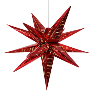 Wholesale Five Point Diy Paper Star Lantern For Wedding Hanging Decorations