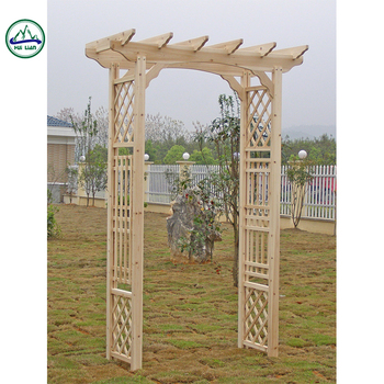 Hl457 Wooden Arch Outdoor Furniture