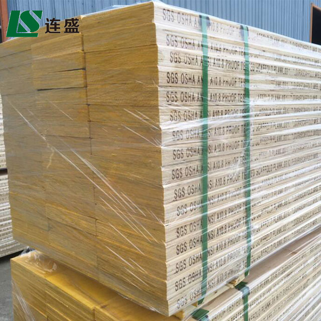 China supplier Liansheng produce LVL scaffold for 17 years that formwork accessories export to Mid East Market