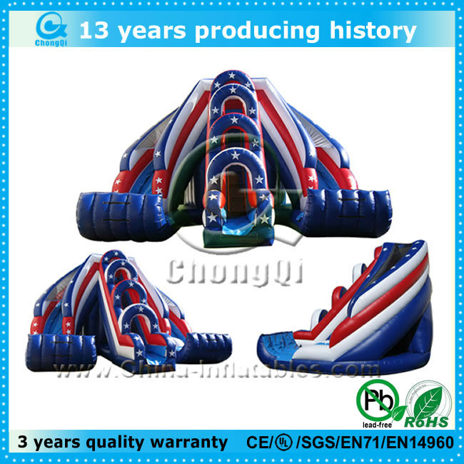hot selling giant inflatable water slide for sale, big inflatale water slides for sale