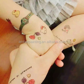 Cartoon Design Non-toxic Temporary Kids Sleeve Tattoos - Buy Kids ...