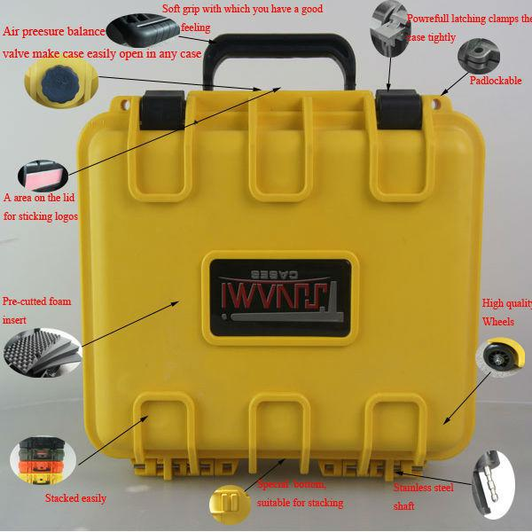 Wholesale Waterproof Hard Abs Plastic Carry Case/tool Box With Eva ...