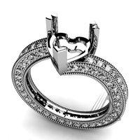 Diamond Jewelry, Diamond Ring, Diamond Gold Engagement Ring