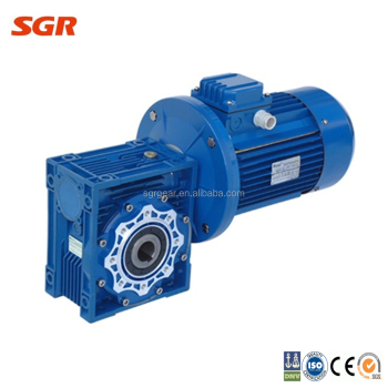 Nmrv worm gearbox electric motor with reduction gear buy for Electric motor with gear reduction
