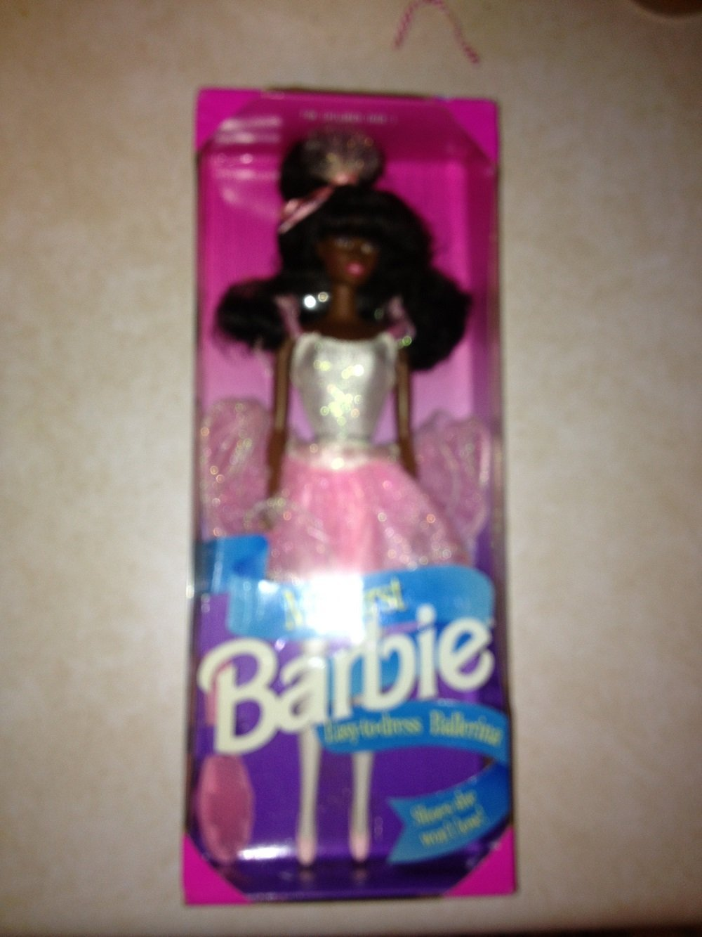 My First Barbie Easy-to-Dress Ballerina (African American) 1994