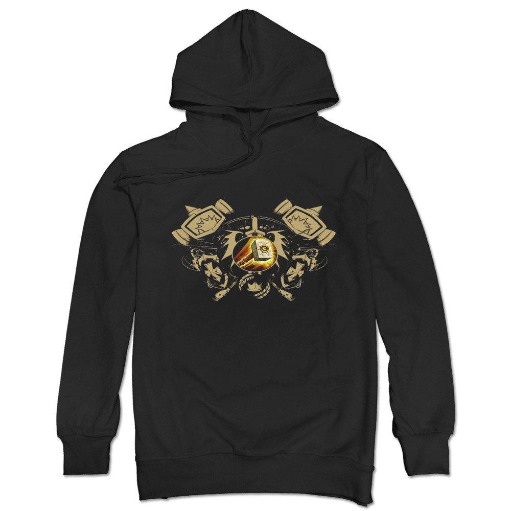 TonyGray Men's Online Games WOW Paladin Logo Hoodie Trendy