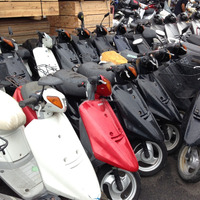 Used Jog 50 scooter/Used japanese scooter made 2 stroke refitted repaired factory export