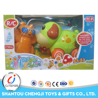Hottest lovely cartoon toys remote control for electrical smart dog