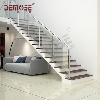Stainless Steel Staircase Designs For Marble