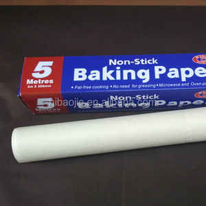 Freezer use food warpping butter paper rolls