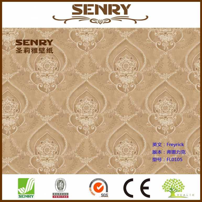 Classic Wallpaper Islamic Design For Wall Decor Karachi Wallpaper In Pakistan View Islamic Wallpaper Senry Product Details From Fujian Senry Green