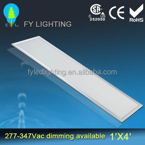 LED ultrathin panel light 4100K 1x4 recessed/suspending/ceiling 18~54W,Overall measured 295-305 mm by1195-1217mm