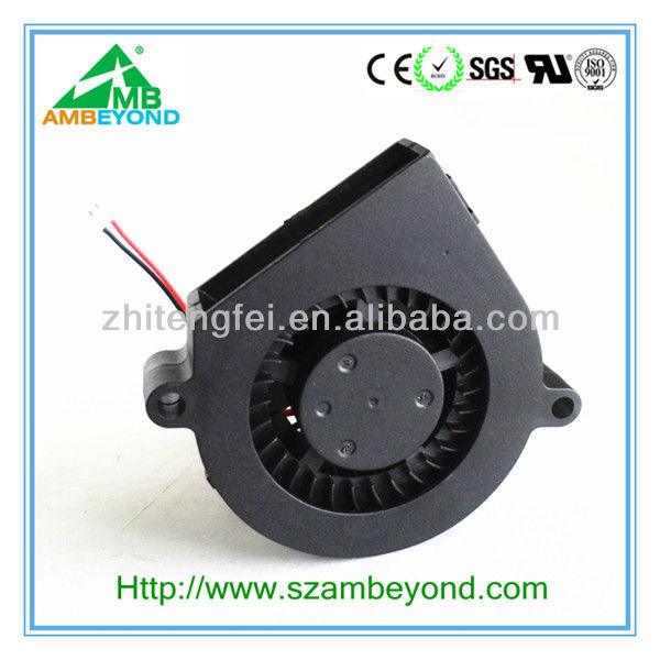 high airflow dc quiet waterproof 5v 12v 60mm blower fan