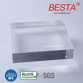 clear cast aquarium acrylic glass sheet 50mm 20mm 18mm 12mm acrylic