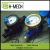 High reliable low cost water pulse flow meter