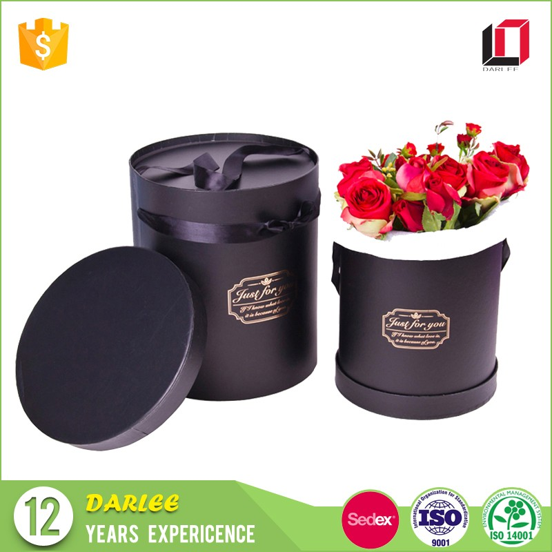China suppliers free sample custom design florist fresh flower packaging gift box