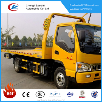 Chengli Wrecked Rollback Truck Platform Tow Trucks For Hot Sale - Buy  Dongfeng Wrecker Truck Towing Truck,Cheap And Best Quality Wrecker Tow  Truck For