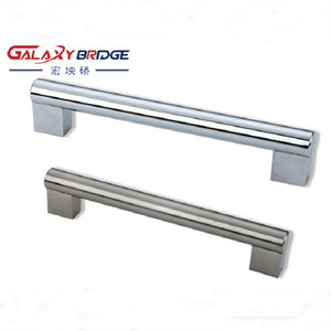 Modern Cabinet Kitchen Drawer Oven Pull Cheap Furniture aluminum T bar hollow solid Steel Metal Handle