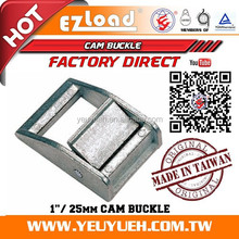 [EZ LOAD] 1 Inch 25mm 450 KGS 304 Stainless Steel Cam Buckle