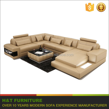 Extra Large Corner Sofa Set,Leather Lounge Suite With Lcd,Corner ...