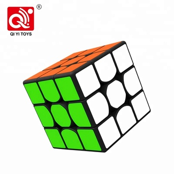QIYI 56mm 3layer oem thunderclap 3x3 speed puzzle cube with anti-pop ability