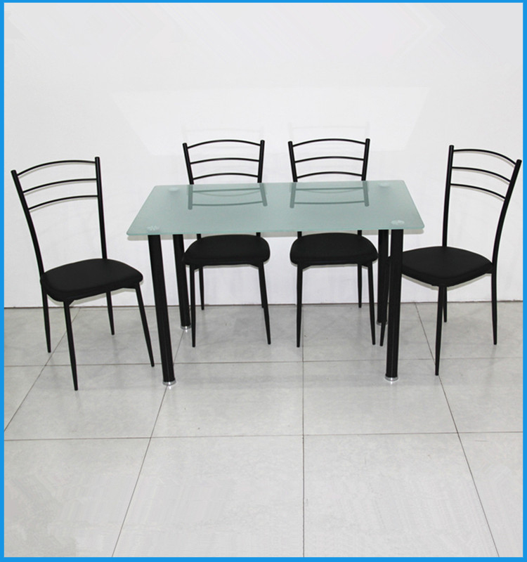 Cheap Dining Table And Chairs: Cheap Metal Used Restaurant Dining Table And Chairs Made