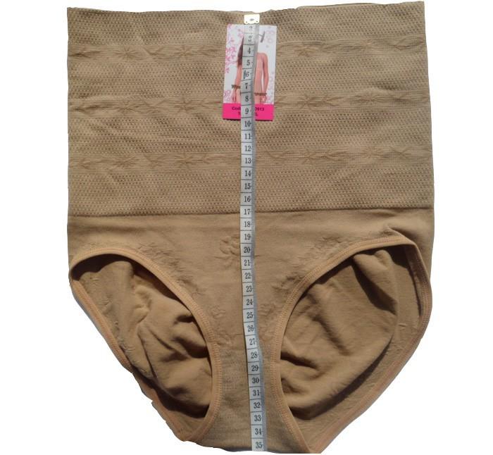 אופנה חדשה דק תחתונים וחזיות ללא תפרים גבוהה המותניים מכנסי הרזיה עיצוב וחיטוב גוף התחתונים שלאחר הלידה עיצוב וחיטוב גוף עם פרח