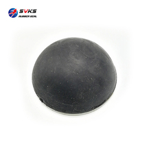 industrial molded truck soft vibration rubber buffer