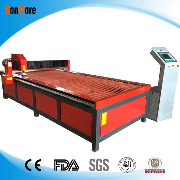CE supply factory price 1530 cnc industrial plasma cutting machine USA Power Source