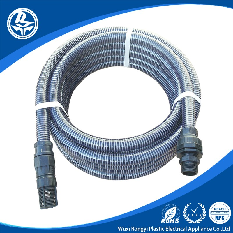 Flexible water outlet hose for water pump