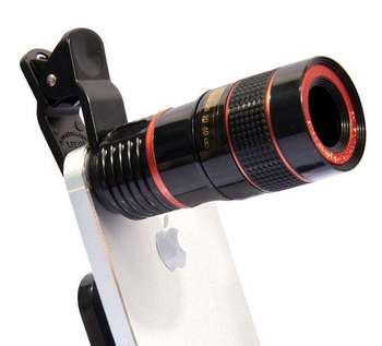 Telescope Camera Lens 8x Optical Zoom Telescope For Mobile Phone With  Universal Clip Suit For Phone Lens Kit - Buy Smartphone Lens,Cell Phone  Camera