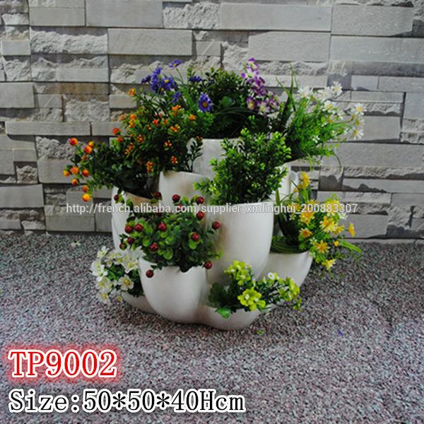 fibre de verre pot fraisier pots fleurs jardini res id de produit 500003049852 french. Black Bedroom Furniture Sets. Home Design Ideas