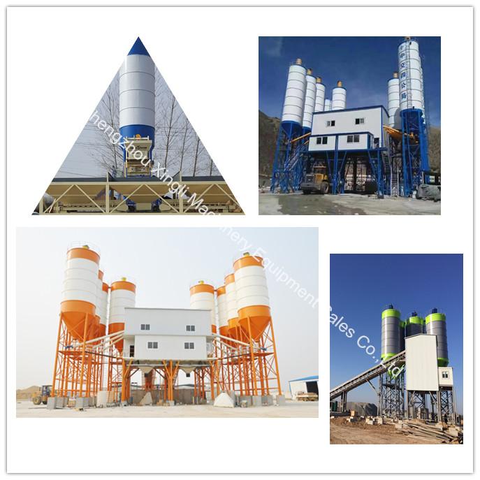 Hzs 25 listo mezclado de hormigón de cemento planta dosificadora de 25m3/h