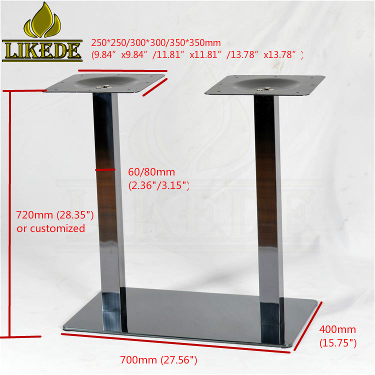 New Titanium Black Stainless Steel Dining Table Base Table Pedestal Base Glass Top Table Base Buy Stainless Steel Dining Table Base Glass Top Table