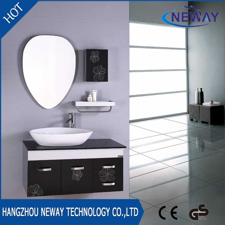 Modern design wall mounted pvc toilet cabinet
