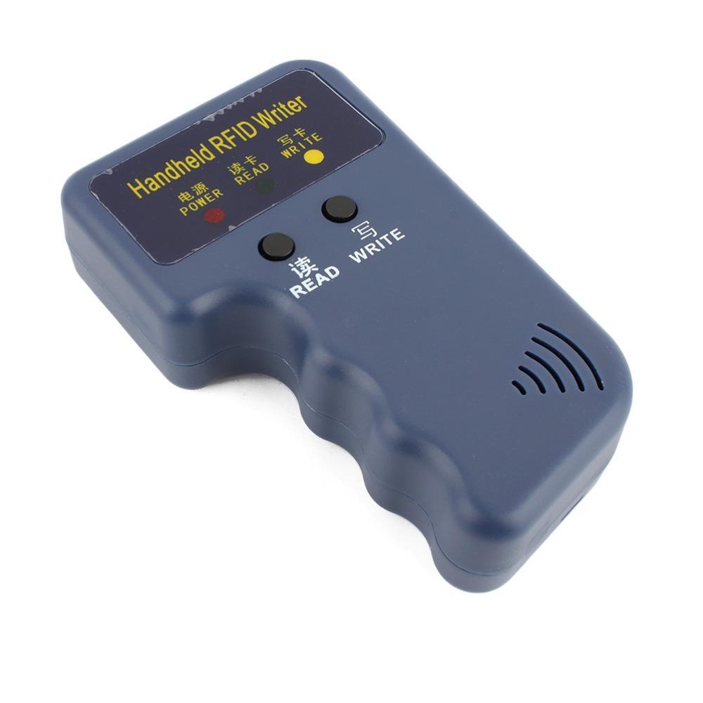 Ручной 125 кГц rfid-считыватель карт копир писатель дубликатор программер ID карты копировать + 5 шт. EM4305 каждого возможностью записи теги