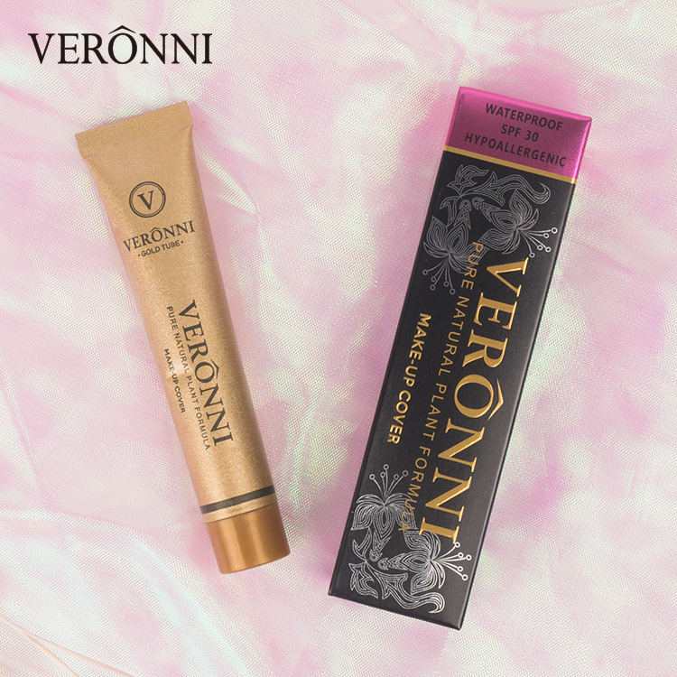 VERONNI Marke Maquiagem Flüssigkeit Concealer 30g Flawless Wasserdichte Körper Tattoo Make-Up Abdeckung Foundation Gesicht Kosmetik Make-Up Basis