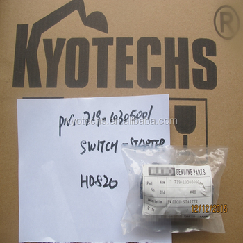 Switch Starter For 719-10305001 Hd820