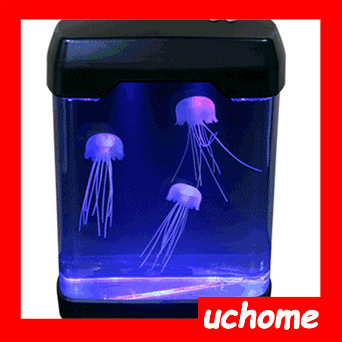 UCHOME Eco-friendly jellyfish aquarium led light mood lamp with EU version