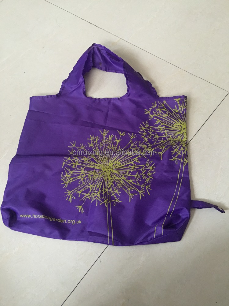foldable custom nylon bag
