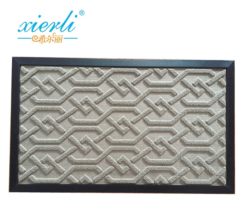 Chinese supplier, rubber backed door mat, floor protection mat