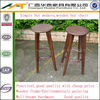 Simple plywood bar stool with footrest,modern restaurant barstools