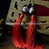 Ladies 2014 Fashion Jewellery , Wood Beads Earrings (SWTNJG689-1)