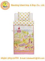 Kids Childrens Twin 2pc Duvet Quilt Cover Set Princess Castle
