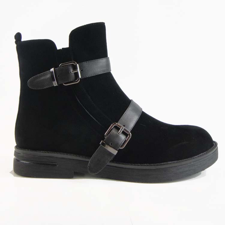 New model wadge ankle motorcycle boots shoes in china