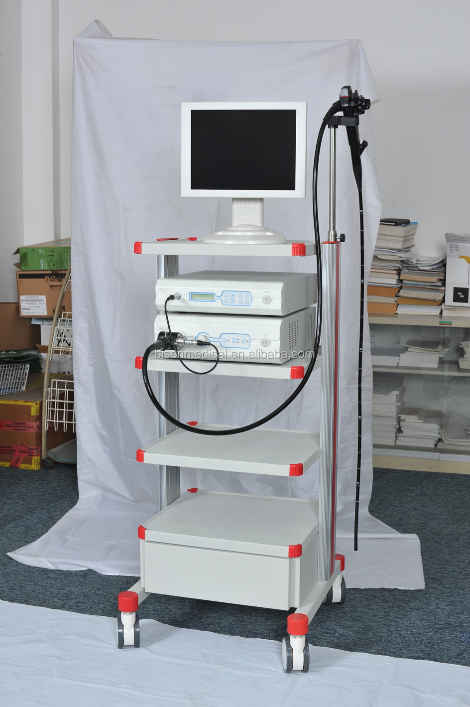Endoscopy Cleaning Room: Bs-vep2100 High Class Video Endoscope System With High